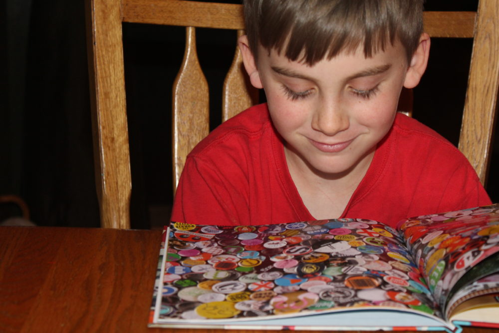 A child can have hours of finding fun with their own personalized finding book.