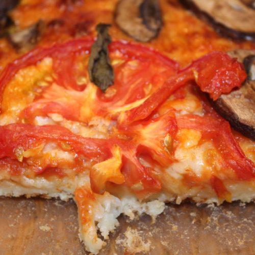 Hidden Cauliflower Crust Margherita Pizza