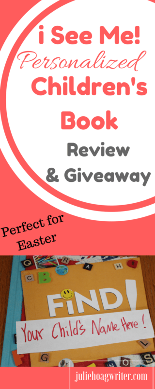 i See Me! Personalized book review for children. Children will feel special when they receive their very own book just about them. As a mom, I love the cherished moments this book helps me create while spending time with my child looking at the book.