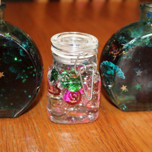 DIY Kids Craft Spring Decoration Jar