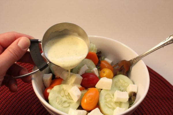 Tangy Homemade Cilantro Lime Salad Dressing