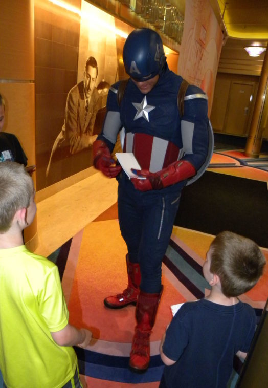 Captain America meet and greet