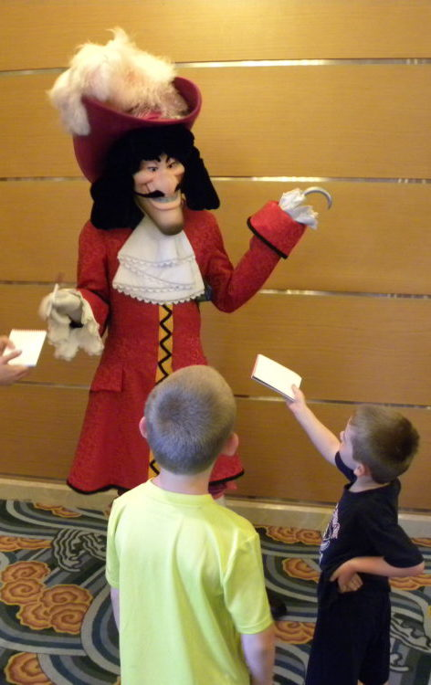 Captain Hook meet and greet