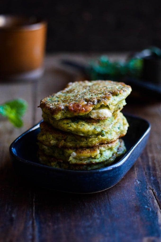 Sunde Broccoli pandekager