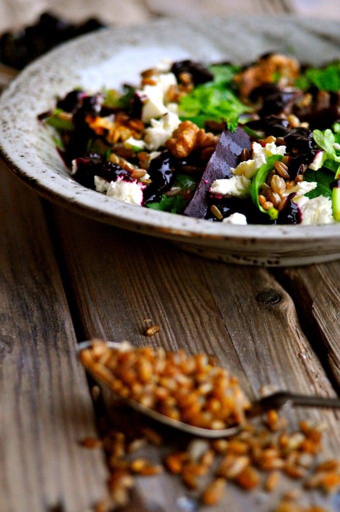 Lækker salat med spinat   www.juliekarla.dk