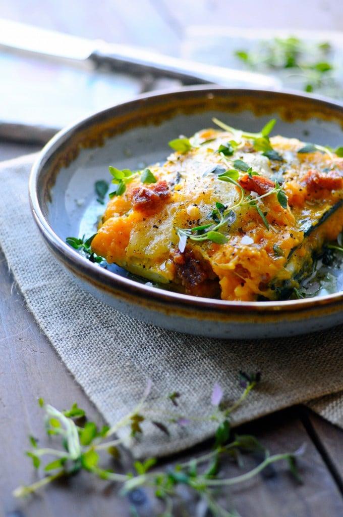 Sund lasagne opskrift med squash | www.juliekarla.dk