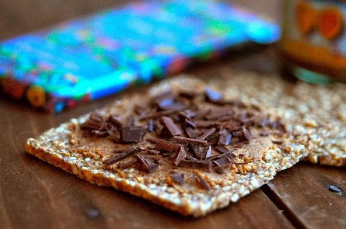 knækbrød - sunde snacks