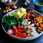 Salat med kylling og ingefær | www.juliekarla.dk