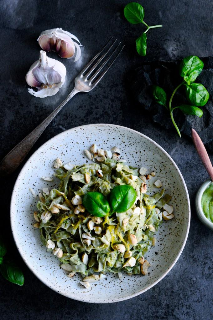 Lækker pastaret med avocado sauce | www.juliekarla.dk