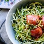 Squashspaghetti med citron | www.juliekarla.dk