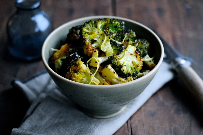 Broccoli i ovn med citron   www.juliekarla.dk
