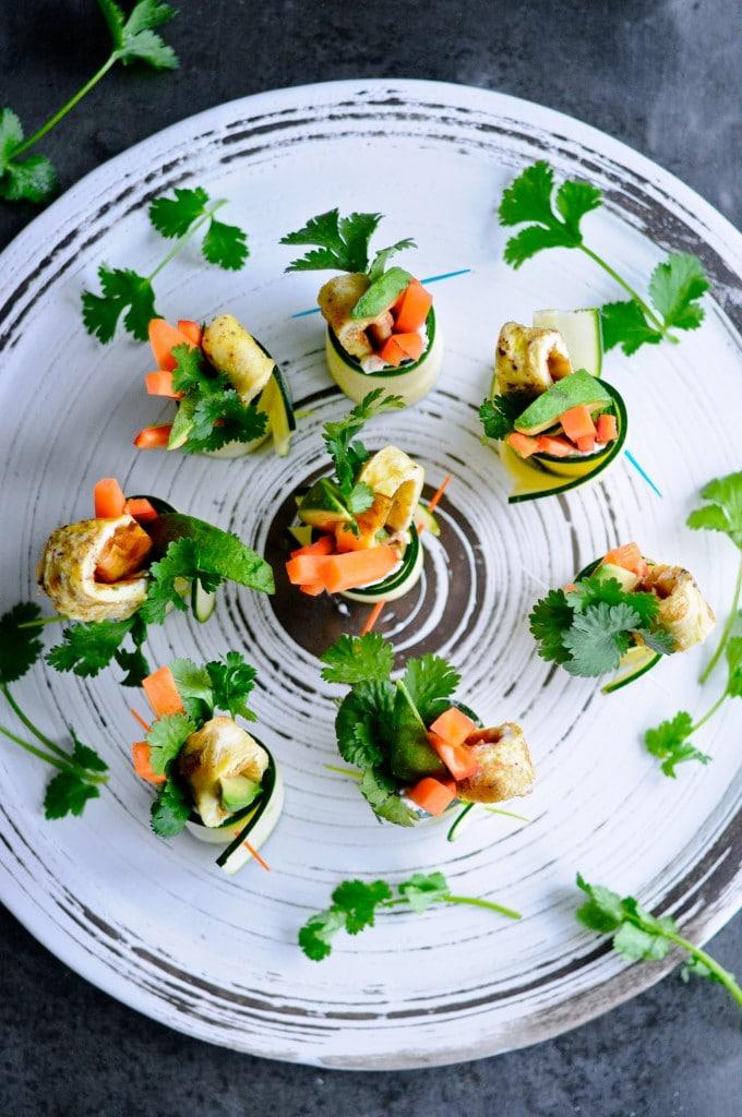 Grønne appetizers   www.juliekarla.dk