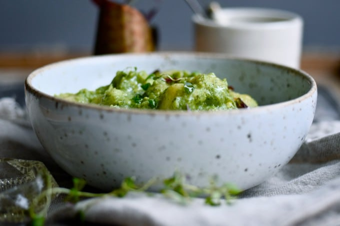 Broccoli sauce med gnocchi