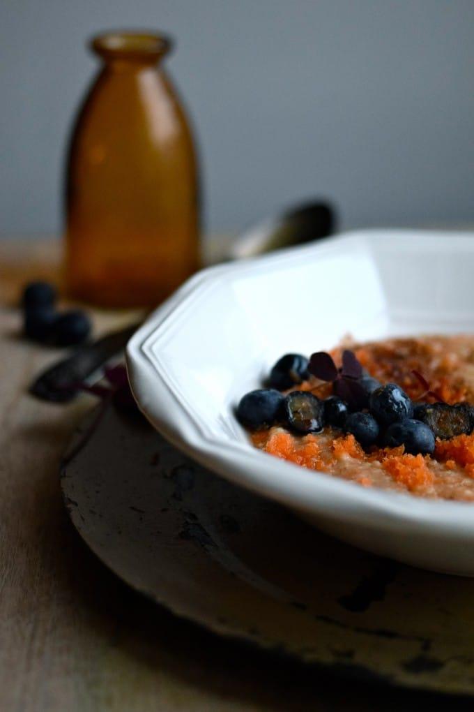 Havregrød med gulerod