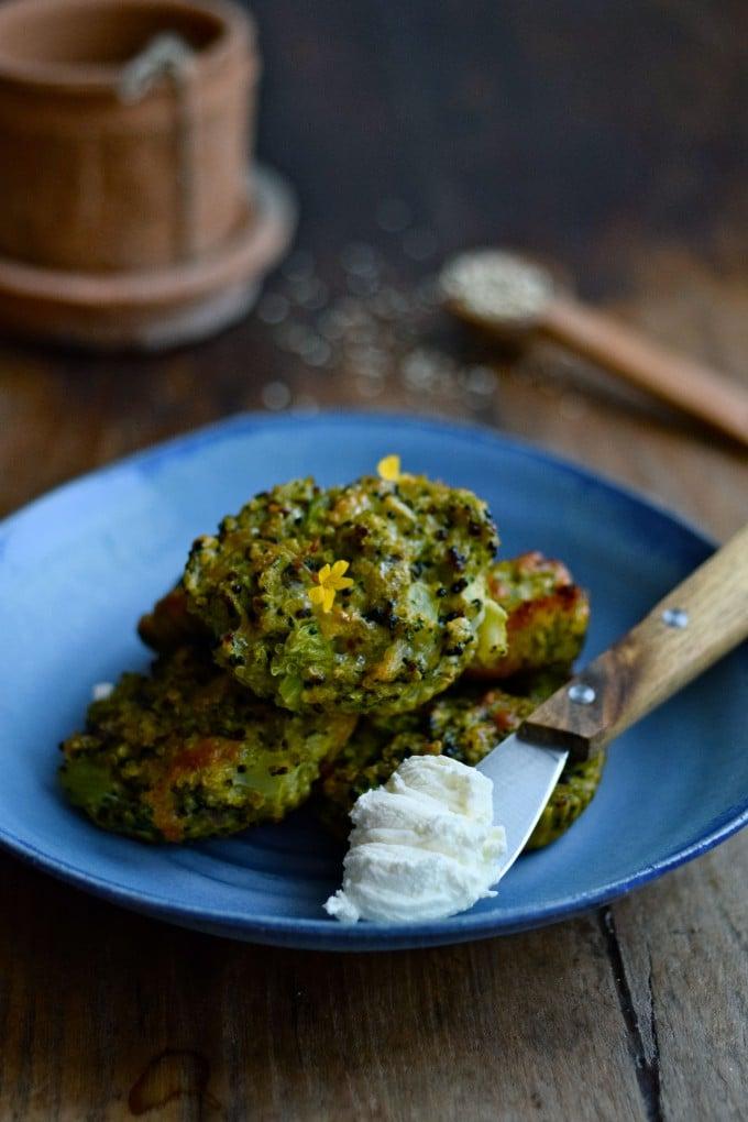 broccolifrikadeller vegetar