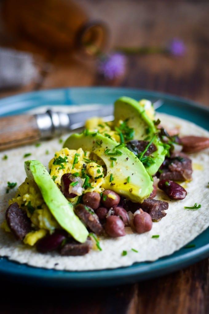 burrito opskrift med æg af julie karla