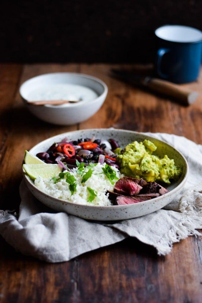 Mexicansk Burrito bowl