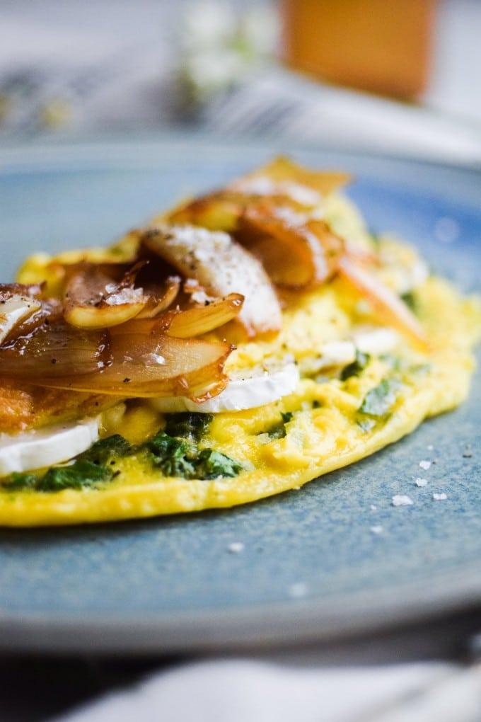 den bedste opskrift paa omelet
