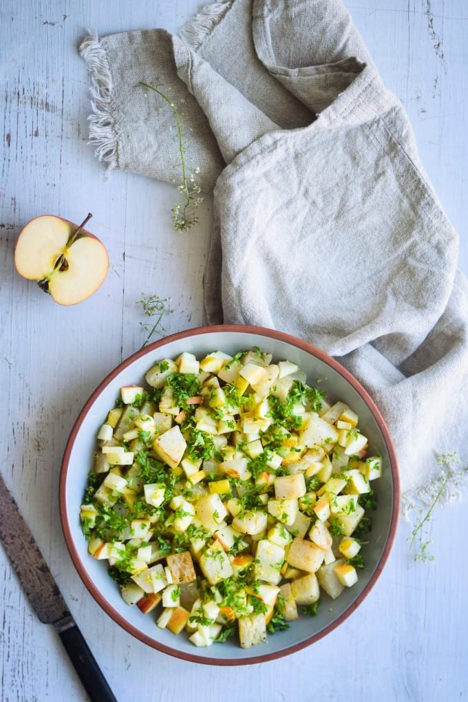 nem opskrift på glaskål salat