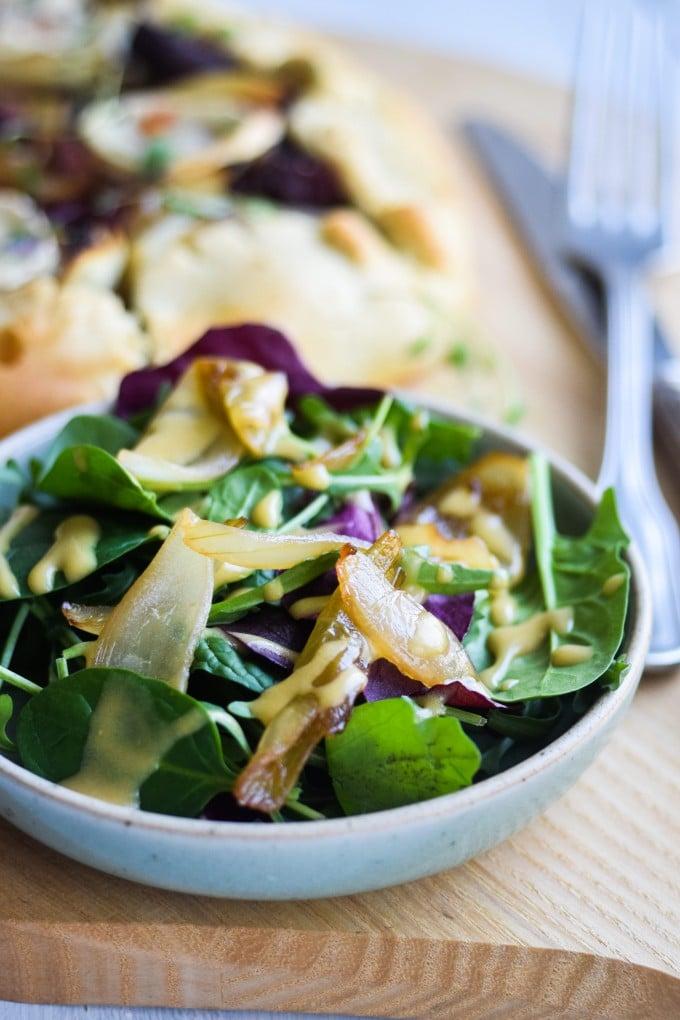 galette opskrift med salat