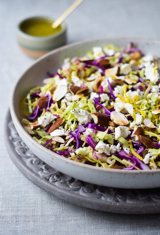 Den bedste opskrift på salat med spidskaal