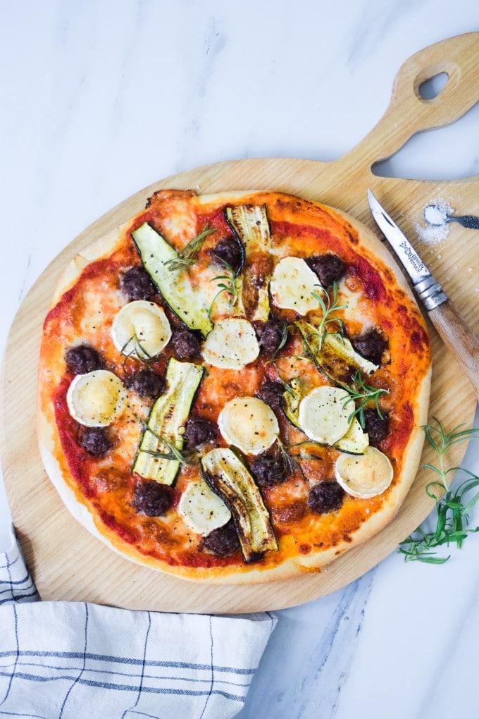 blog opskrift pizza med oksekød