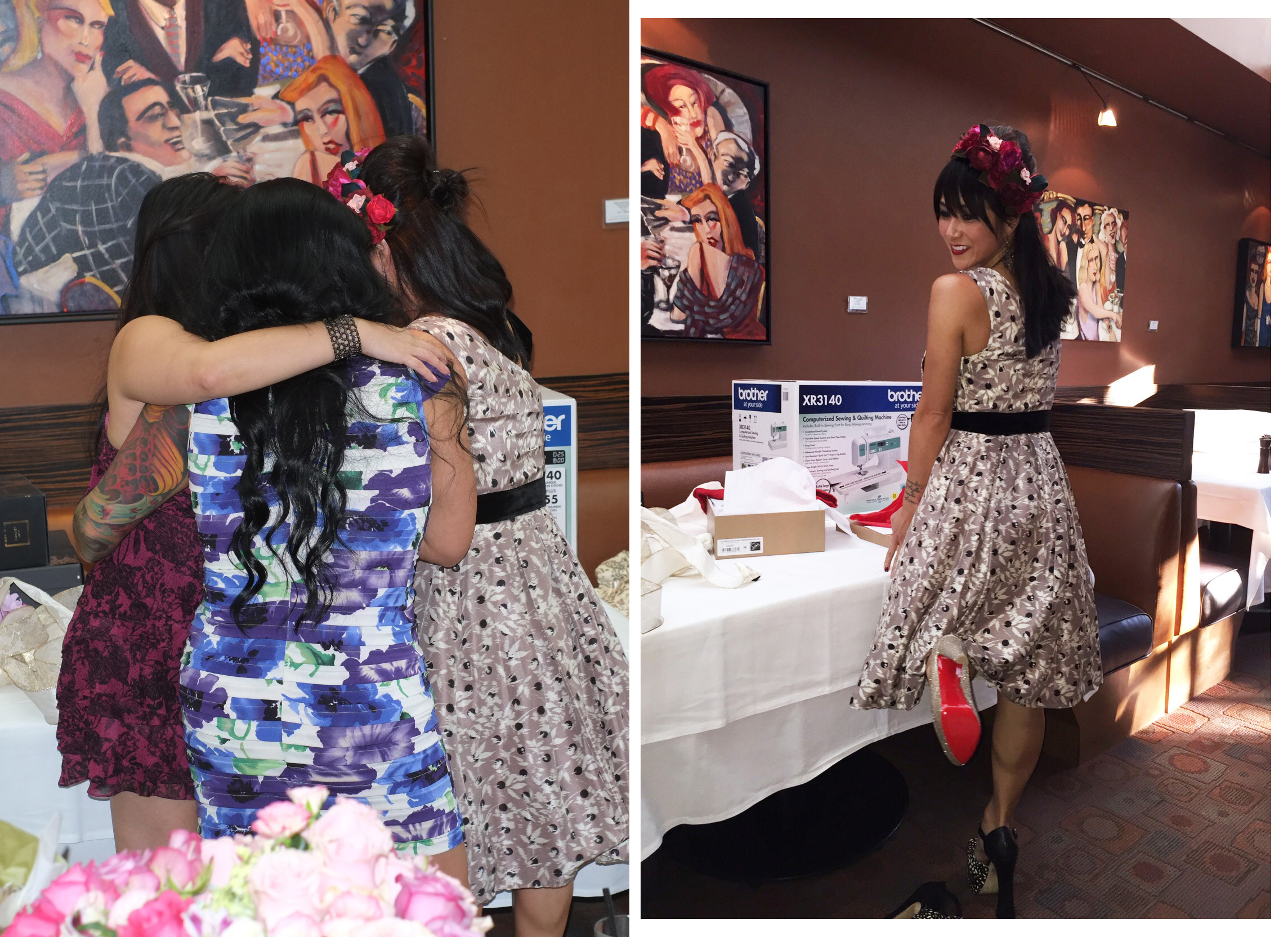 my blooming bridal shower
