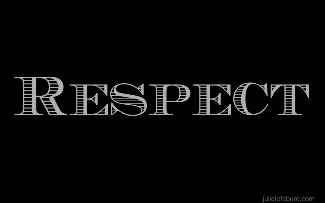 Lesson…Respecting Spouse With Words