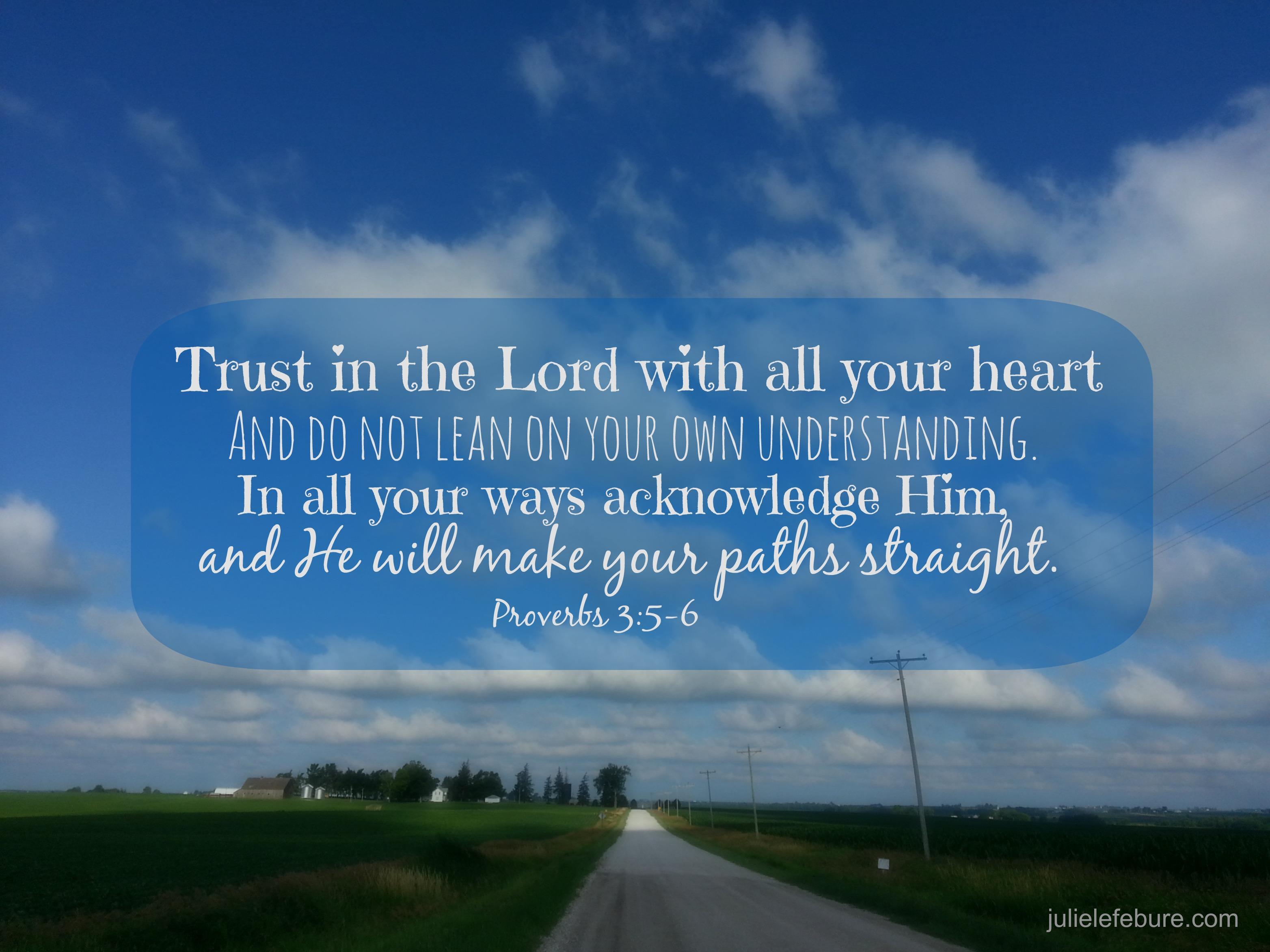 Trusting When It Doesn T Make Sense
