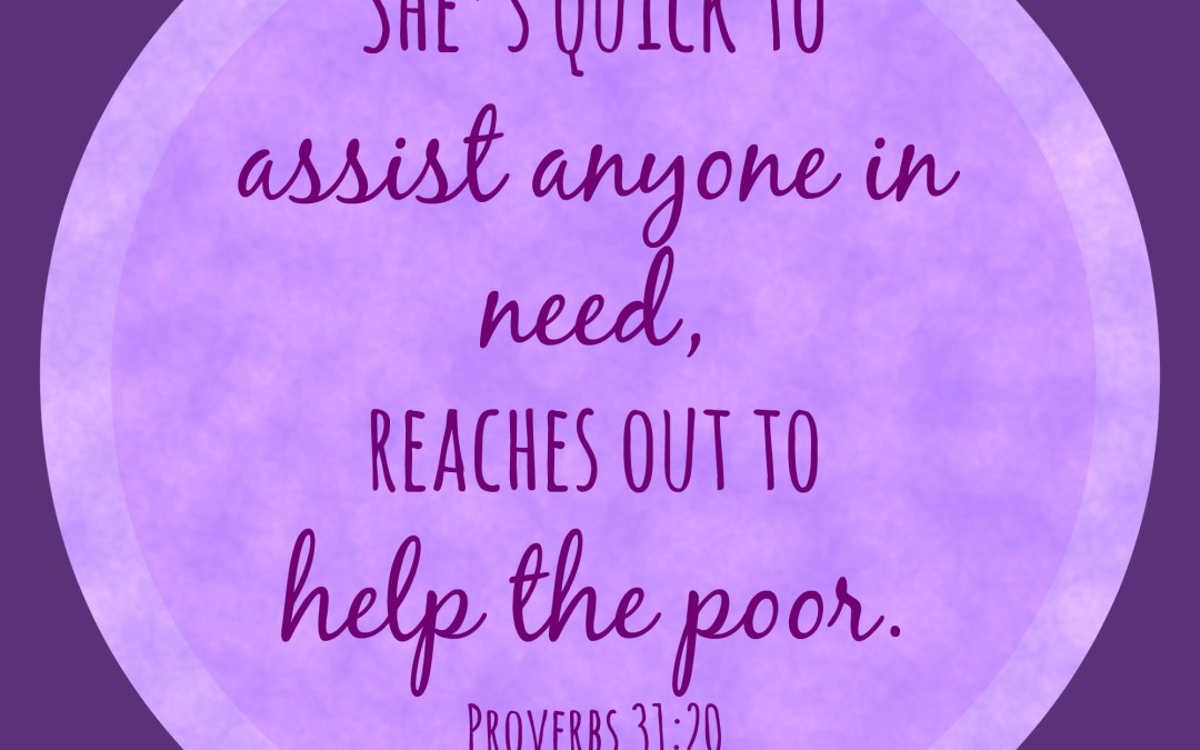 W2W – What Do We Do With the Poor??