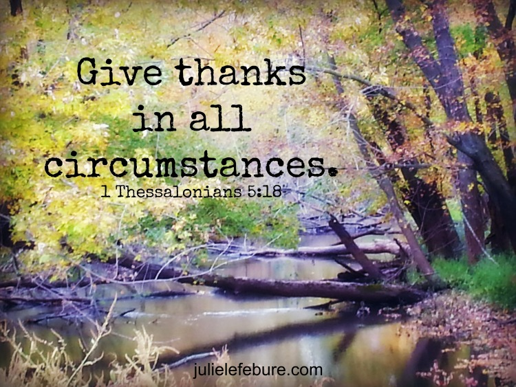 Give Thanks… Even When Bad Happens??