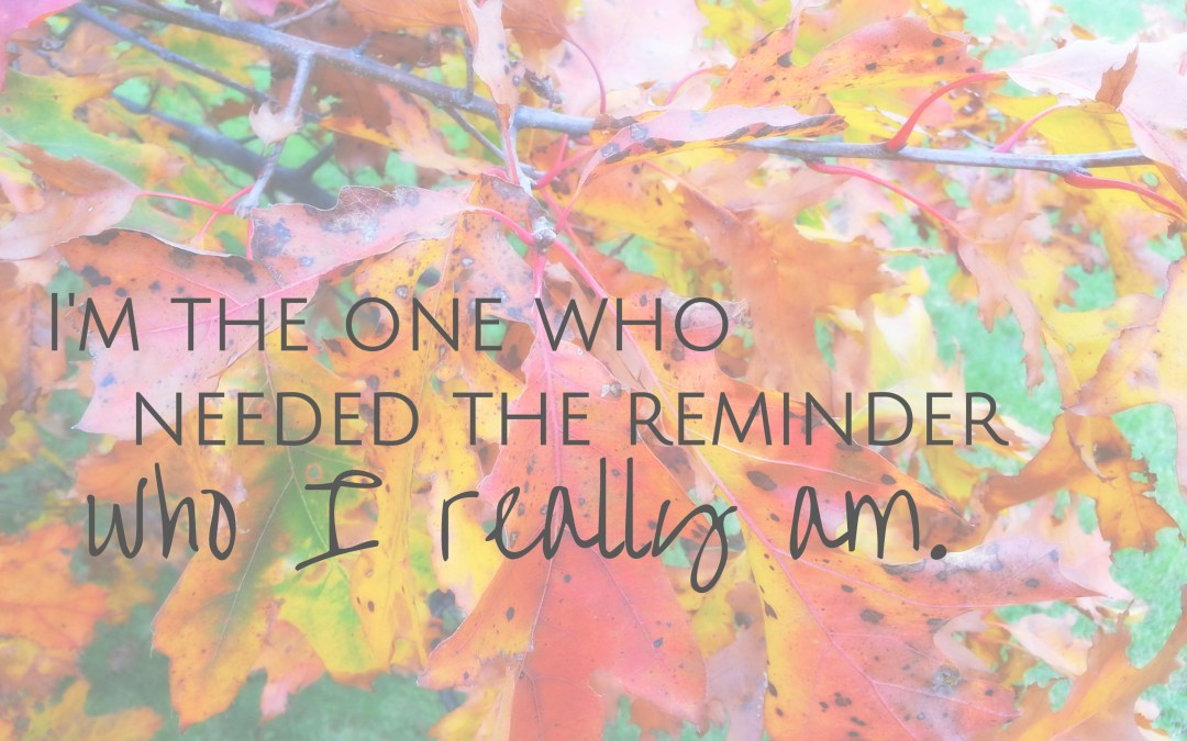 31 Days Celebrating Who You Are – A Recap