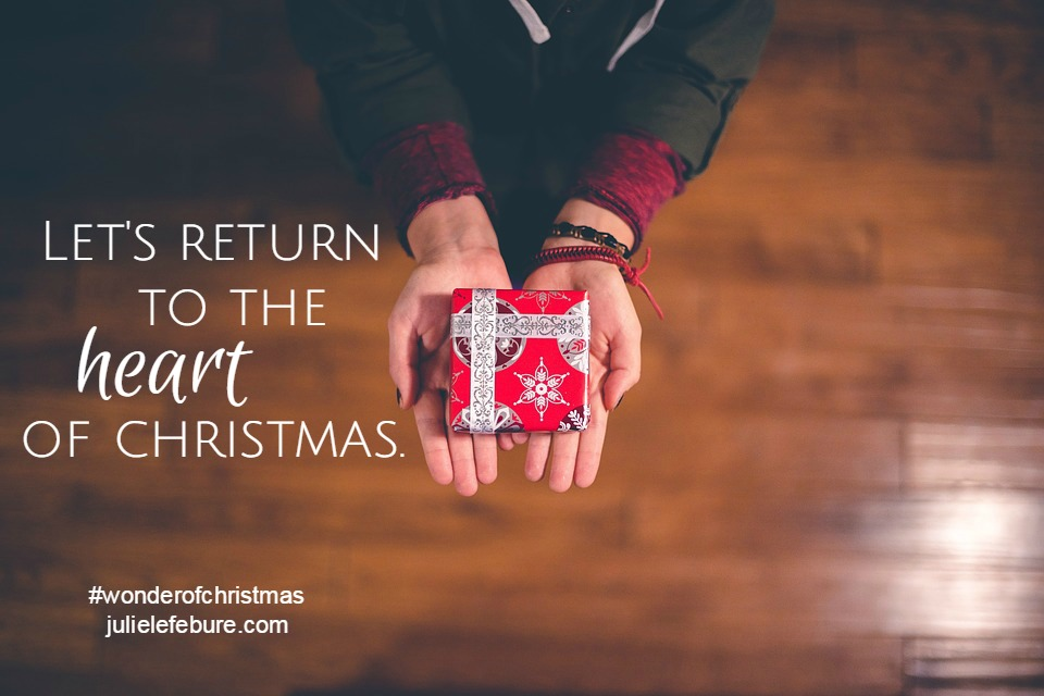 Returning To The Heart Of The Season – The Wonder of Christmas