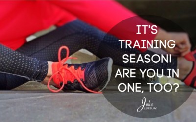 It's Training Season! Are You In One, Too?