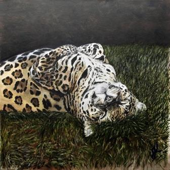 Tickle My Chin | Oil on Canvas by Julie Lovelock