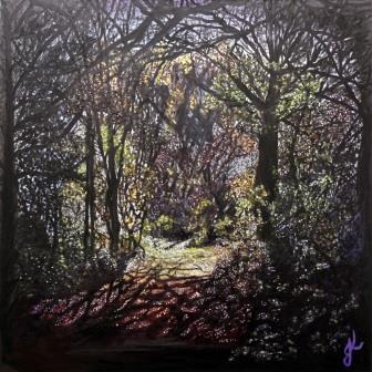 That Gentle Wilderness   Oil on Canvas by Julie Lovelock