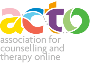 ACTO (association for counselling and therapy online) member logo
