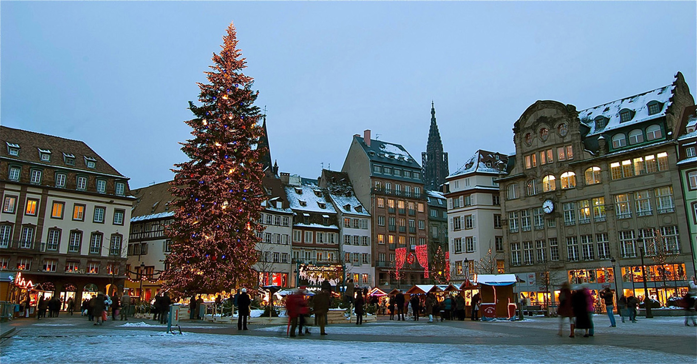 Christmas Market in Alsace  Departure  Mulhouse  Arrival  Strasbourg