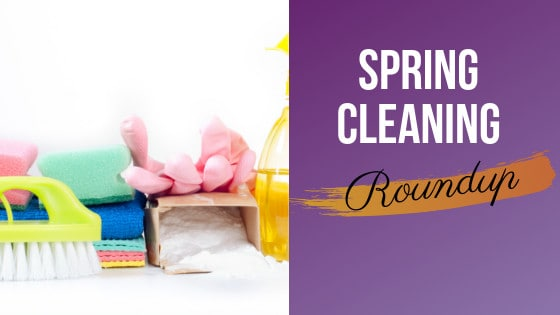 rubber gloves, sponges, and scrub brushes used for cleaning