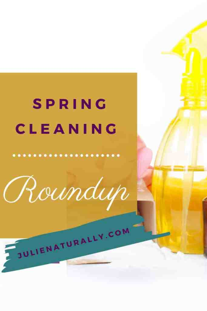 Yellow cleaning bottle