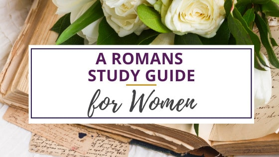 open book of romans study guide for women with white roses
