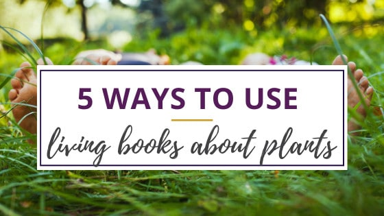 kids lying on the grass enjoying living books about plants