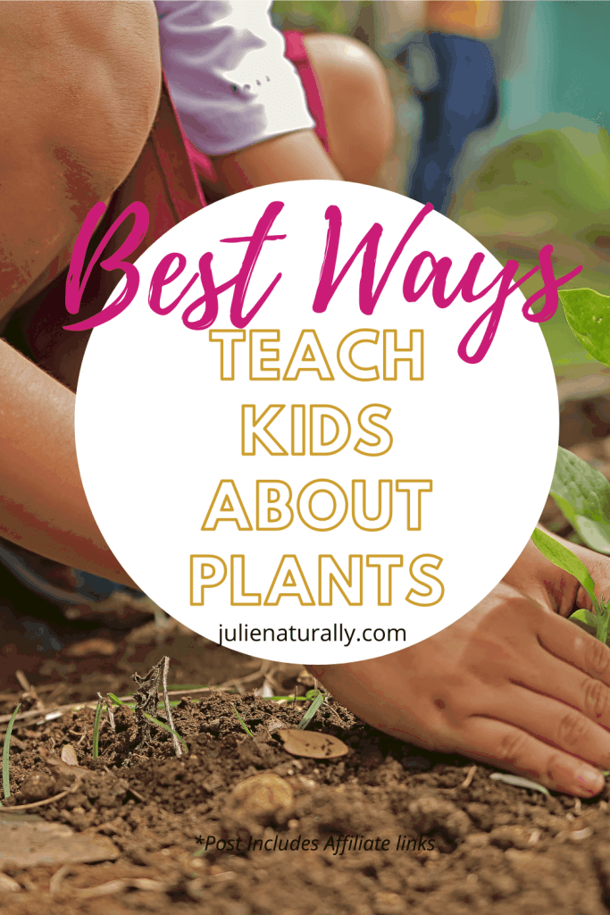 how to teach kids about plants by having kids garden outdoors