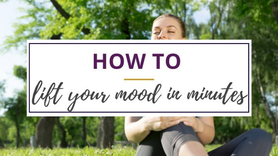 lift mood by exercising outdoors