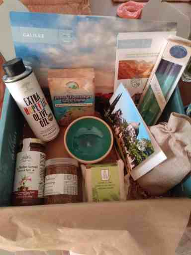 contents of the galilee artzabox review