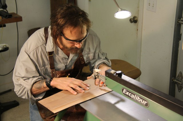 Day Marquetry Class at the David Marks School of Woodworking