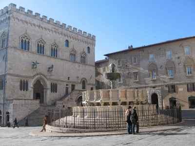 Centre-ville de Perugia