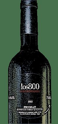 Los 800 - Un délicieux vin du Priorat