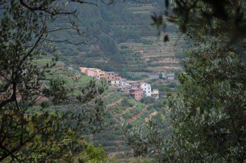 Groppo, niché au milieu des vignes en terrasse à Cinque Terre