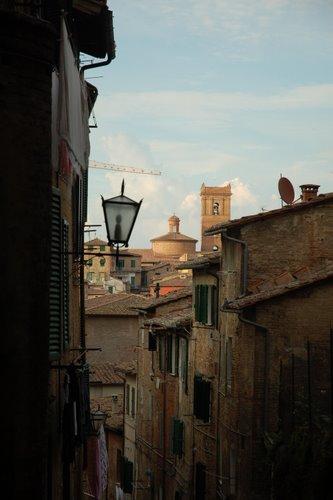 Vue typique à Siena